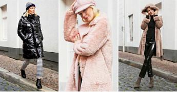 Streetstyle: модные пальто Marc Cain для теплой зимы